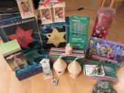 Weihnachtsartikel / Weihnachtsflohmarkt / Deko