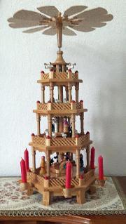 weihnachtspyramide haushalt m bel gebraucht und neu. Black Bedroom Furniture Sets. Home Design Ideas