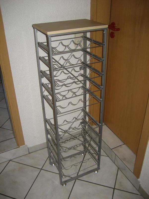 weinregal metall kaufen gebraucht und g nstig. Black Bedroom Furniture Sets. Home Design Ideas