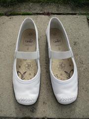 weisse Schuhe Gr.