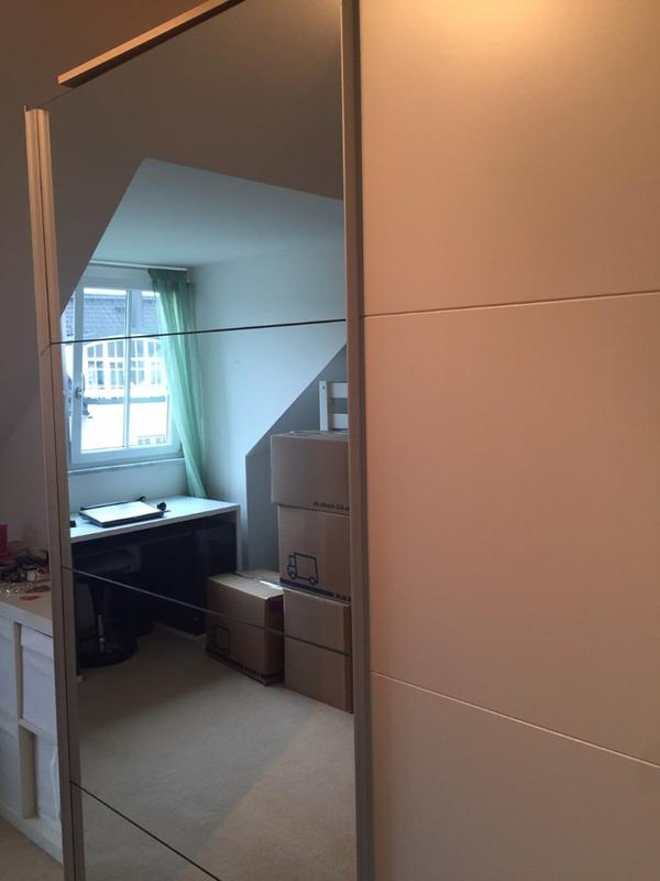 wei er schwebet renschrank mit spiegel in krailling. Black Bedroom Furniture Sets. Home Design Ideas