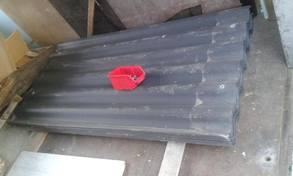 welleternitplatten welleternit platten dachplatten eternit asbestfrei in hard sonstiges. Black Bedroom Furniture Sets. Home Design Ideas