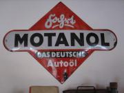 Werbeschild MOTANOL ca.