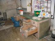 Werkbank / Schreibtisch zu