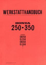 Werkstatthandbuch Honda CB +