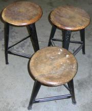Werkstatthocker, Vintage, Shabby,