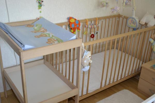 babybett buche kleinanzeigen baby kinderartikel. Black Bedroom Furniture Sets. Home Design Ideas