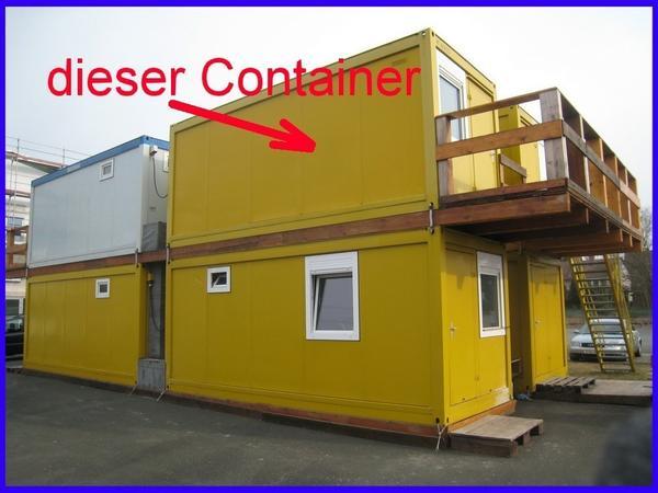 wohn container mit wc dusche k che poliercontainer top in erlangen sonstiger. Black Bedroom Furniture Sets. Home Design Ideas