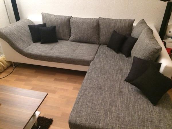 wohnlandschaft couch modern in merseburg polster sessel couch kaufen und verkaufen ber. Black Bedroom Furniture Sets. Home Design Ideas