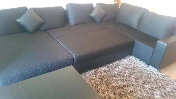 Wohnlandschaft in f rth polster sessel couch kaufen for Wohnlandschaft quoka