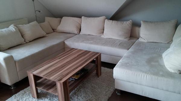 wohnlandschaft sofa in u form inkl kissen in altendorf polster. Black Bedroom Furniture Sets. Home Design Ideas