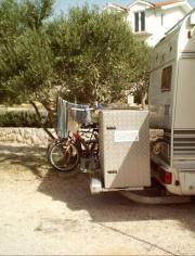 Wohnmobil - Stauraumkiste, Transportbox