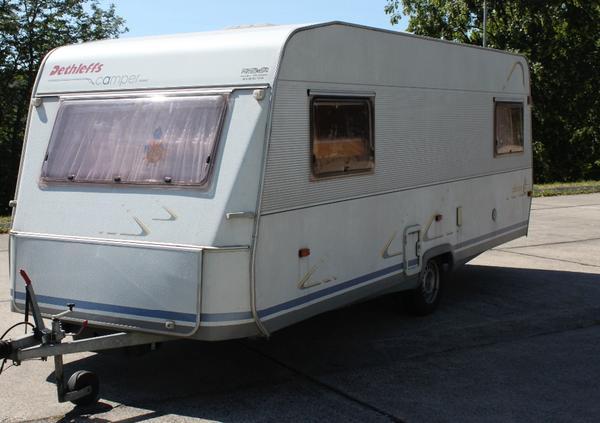 wohnwagen dethleffs camper 530tk in winningen kaufen und. Black Bedroom Furniture Sets. Home Design Ideas