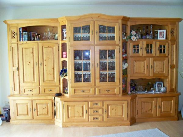 wohnzimmer schrankwand landhausstil – saintain, Innenarchitektur ideen