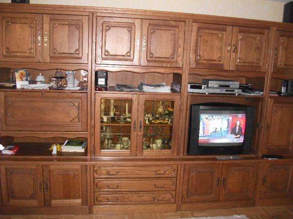 wohnzimmer schrankwand gebraucht raum und m beldesign inspiration. Black Bedroom Furniture Sets. Home Design Ideas