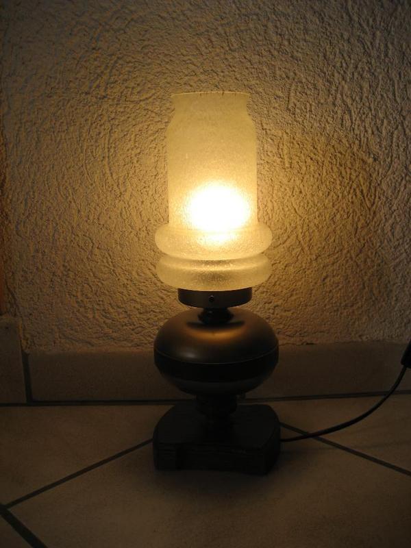 wohnzimmer tischlampe eiche rustikal in birkenheide