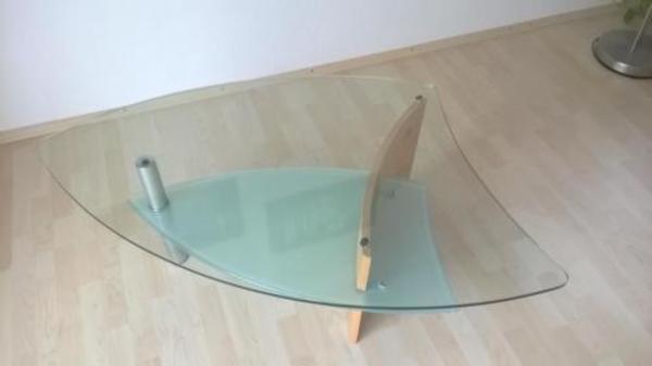 Wohnzimmertisch couchtisch modern glas edelstahl for Wohnzimmertisch quoka