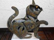 Wunderschöne Deko - Katze