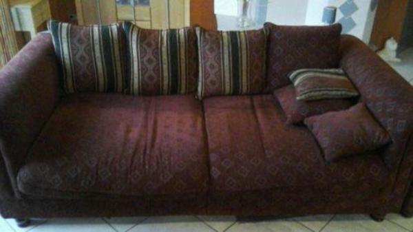Xxl couch in rot zu verschenken nur selbstabholer bis for Couch verschenken