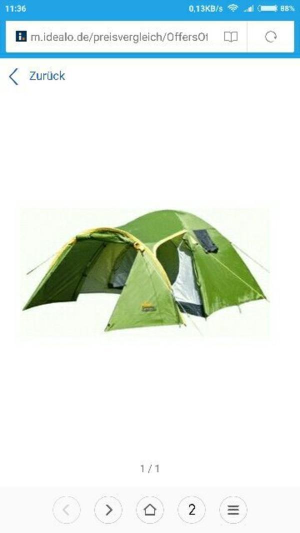 zelt adac 3 personen camping in n rtingen. Black Bedroom Furniture Sets. Home Design Ideas