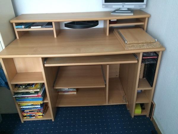 schreibtisch ausziehbar neu und gebraucht kaufen bei. Black Bedroom Furniture Sets. Home Design Ideas