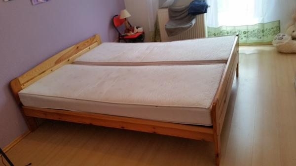zwei betten g nstig zu verkaufen in sandhausen kaufen und verkaufen ber private kleinanzeigen. Black Bedroom Furniture Sets. Home Design Ideas