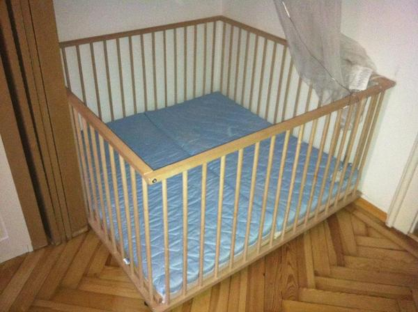 Zwillingsbettchen  Sämann Kindermöbel. babylaufgitter vom kinderm bel hersteller s ...