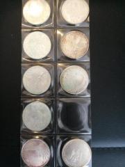 10DM Gedenkmünzen