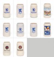 10x Maßkrüge, Bierkrüge