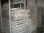154 m² gebrauchtes Alu Gerüst