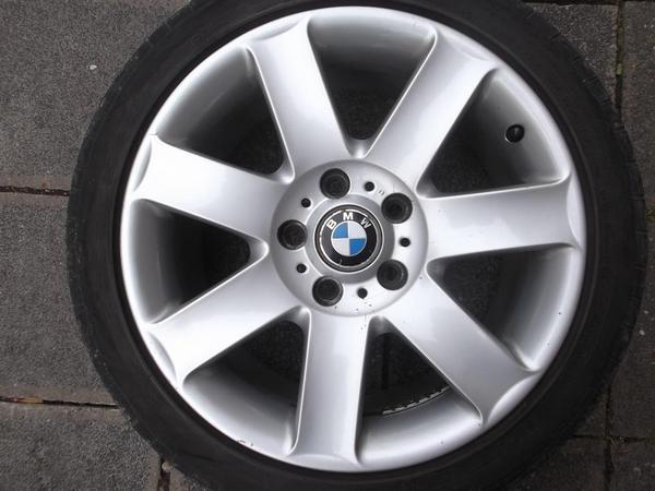 17 Zoll originale BMW Alufelgen