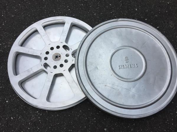 1x Siemens Filmrolle 16mm mit