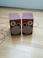 2 Philips Lautsprecherboxen