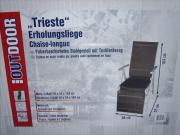 2 Relax- Erholungs- Gartenliegen Trieste