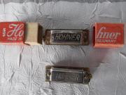 2 seltene alte HOHNER Mundharmonika