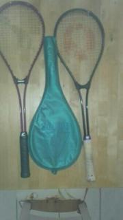2 Squash Schläger