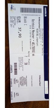 2 Tickets Reinhold