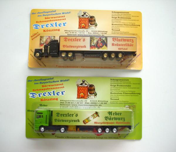2 Trucks von der Bärwurzerei
