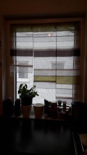 2 verschiedene Vorhänge/