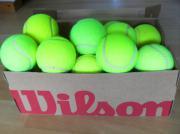 23 gebrauchte Tennisbälle