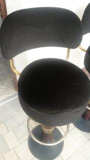 2er Set Stil Bar Drehsthle Mit Stoffpolster In Ottobrunn