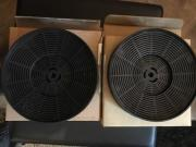 2xAktivkohlefilter für Dunstabzughaube