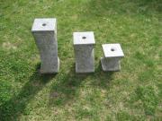 3 Brunnensteine aus