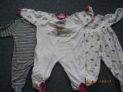 3 Frottee Schlafanzug - Strampler