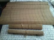 3 neue Bambusrollos -