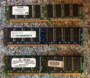 3 x Marken PC Arbeitsspeicher