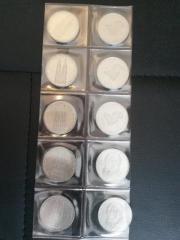 5 DM Gedenkmünzen über 40