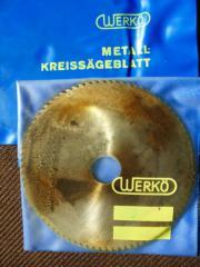5 HSS-Metallkreissägeblätter 125x0 8x80 Lochdurchm