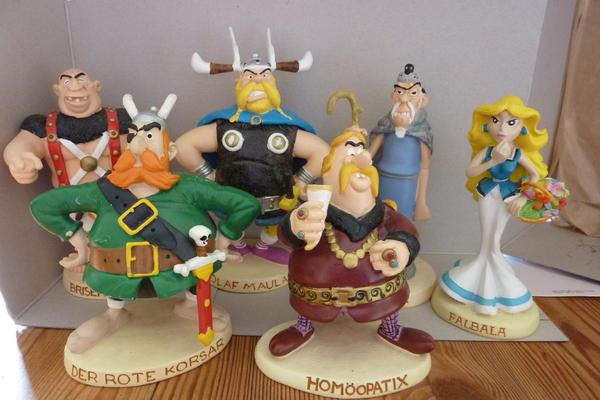 6 asterix und obelix sammler figuren plastoy deagostini. Black Bedroom Furniture Sets. Home Design Ideas