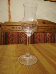 6 neue Grappa-Gläser und 6